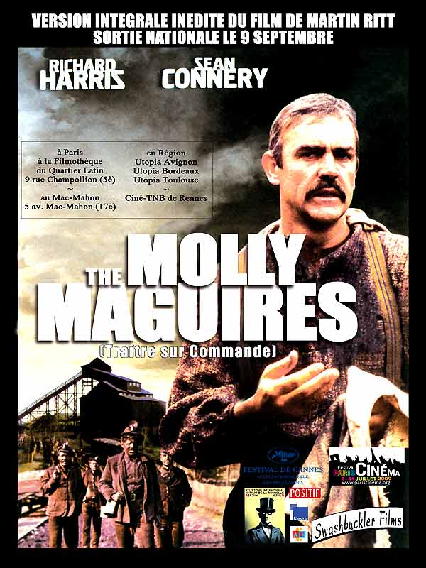 molly maguires The single solace in their misery, the feats of the 'molly maguires', secret society  which avenges by violence injustice made to the workers the police decides.