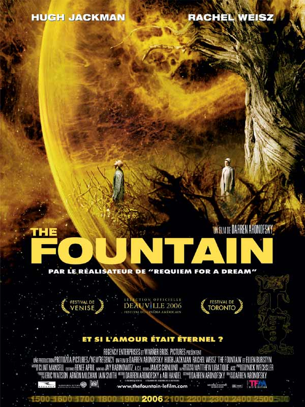 The Fountain : Review, Trailer, Teaser, Poster, DVD, Blu ...
