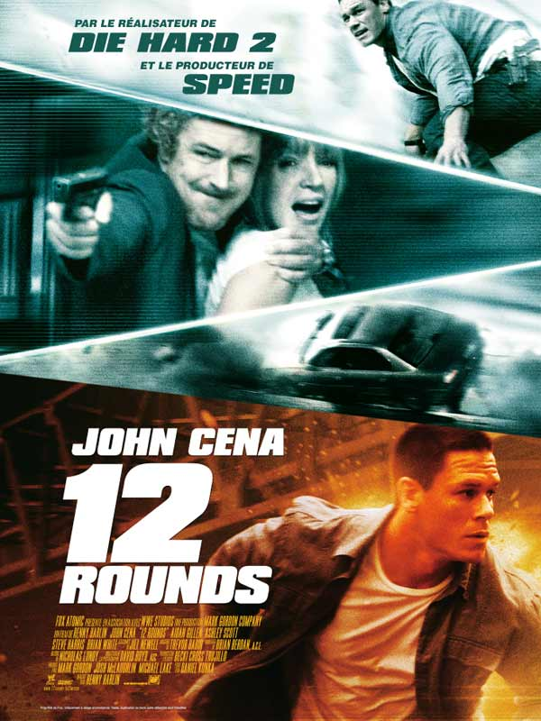 12 rounds review trailer teaser poster dvd bluray