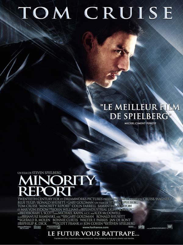 report see showtimes of minority report buy poster of minority report