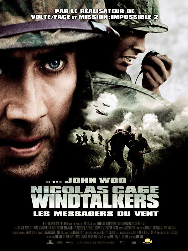 wind talkers Windtalkers comes advertised as the saga of how navajo indians used their  language to create an unbreakable code that helped win world.