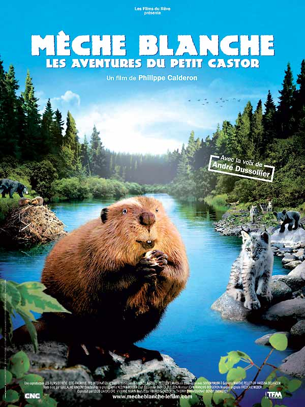 Mèche Blanche, les aventures du petit castor [FRENCH DVDRiP]