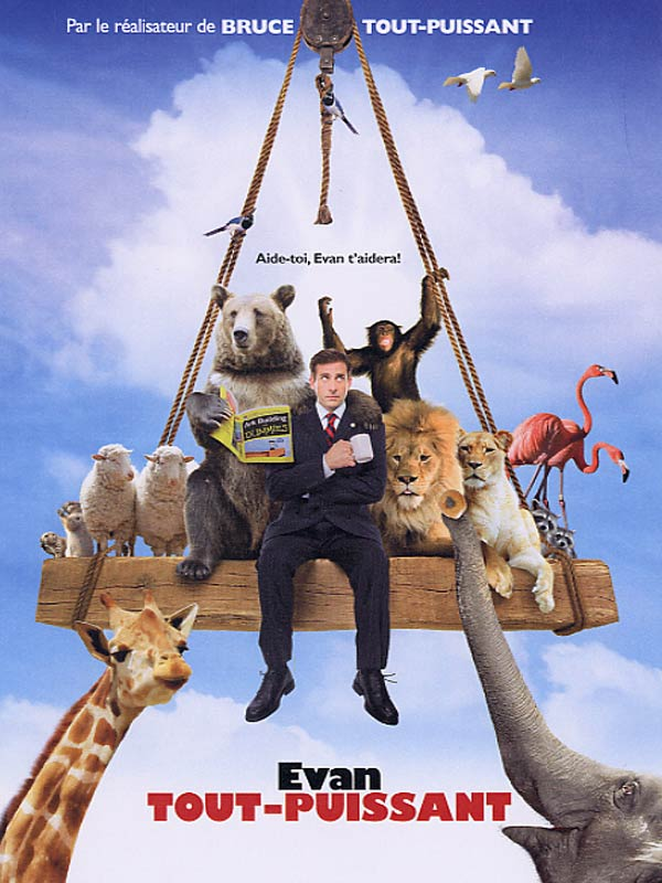 EVAN ALMIGHTY : Review, Trailer, Teaser, Poster, DVD, Blu-ray ...