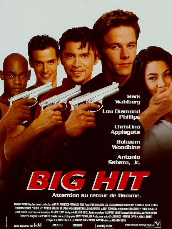 The big hit see showtimes of the big hit buy poster of the big hit buy