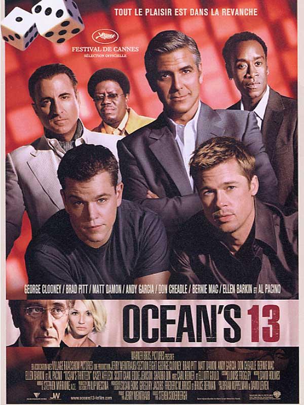 oceans thirteen review trailer teaser poster dvd