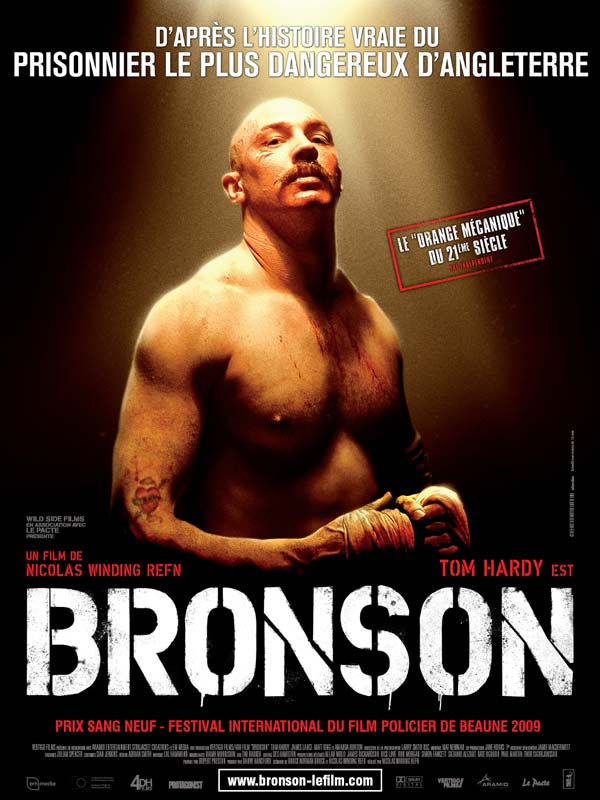 Bronson : Review, Trailer, Teaser, Poster, DVD, Blu-ray ...