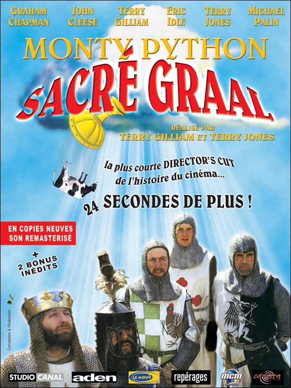 a review of the film monty python and the holy grail Monty python's the meaning of life is a film about the journey,  monty python and the holy grail gets 40th  movie review – monty python's the.