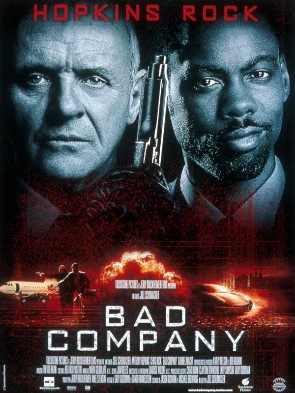bad company Bad company online (2002) español latino descargar pelicula completa, cia (anthony hopkins) recibe la misión de adiestrar a jake hayes (chris rock), un busa.