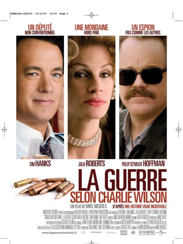 charlie wilsons war review trailer teaser poster