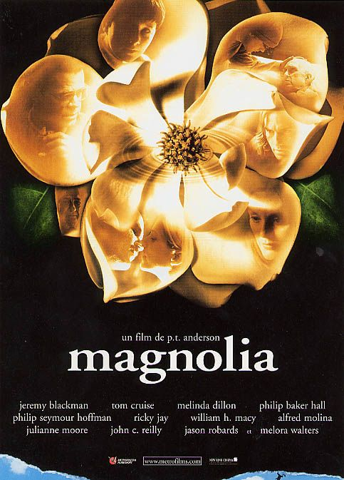 """a review of the magnolia movie The new yorker, december 20, 1999 p 102 the current cinema reviews  of """"magnolia"""" and """"the green mile"""" anderson loves the."""
