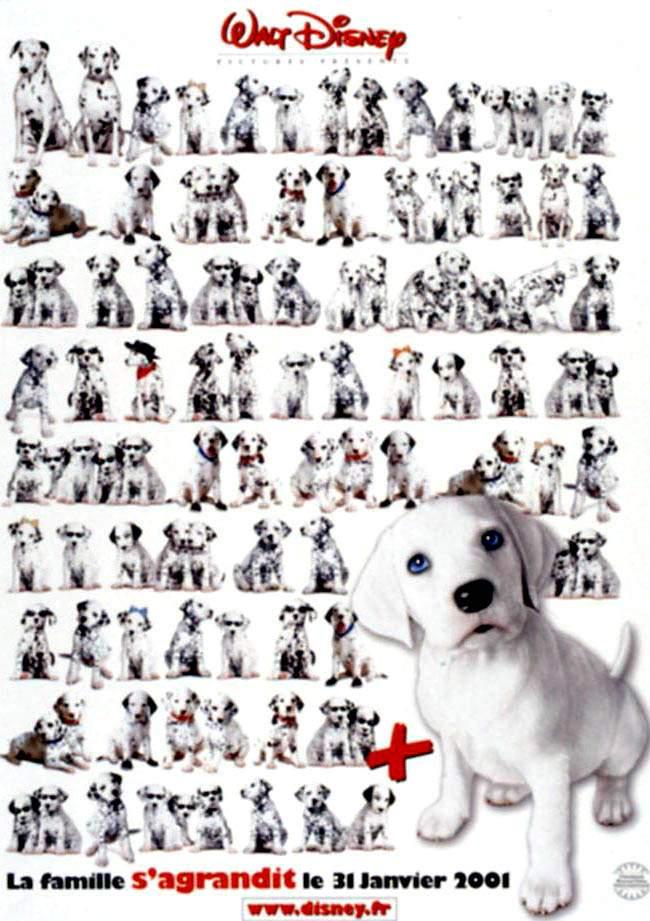 buy poster of 102 dalmatians
