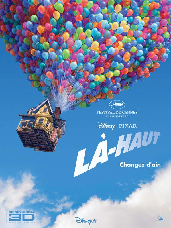 Pixar's Up : Review, Trailer, Teaser, Poster, DVD, Blu-ray ...