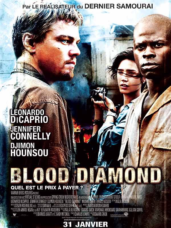 Leonardo dicaprio blood diamond watch : Apparitional film