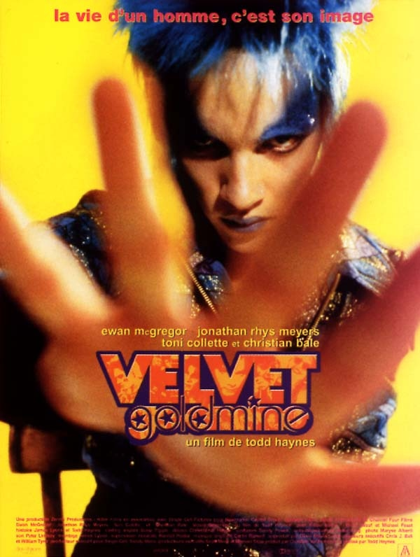 velvet goldmine review trailer teaser poster dvd
