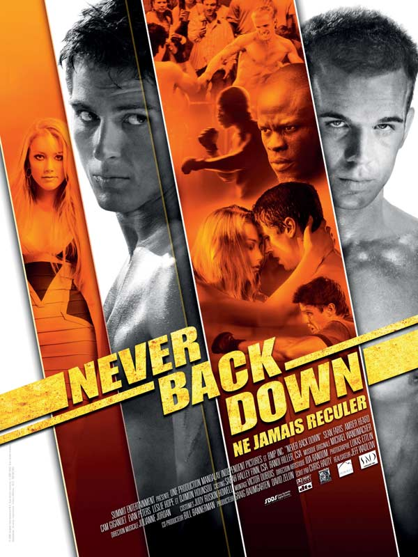 never back down review Never back down is a 2008 martial arts film directed by jeff wadlow and starring sean faris never back down review- the duke chronicle review (mar 6, 2008.
