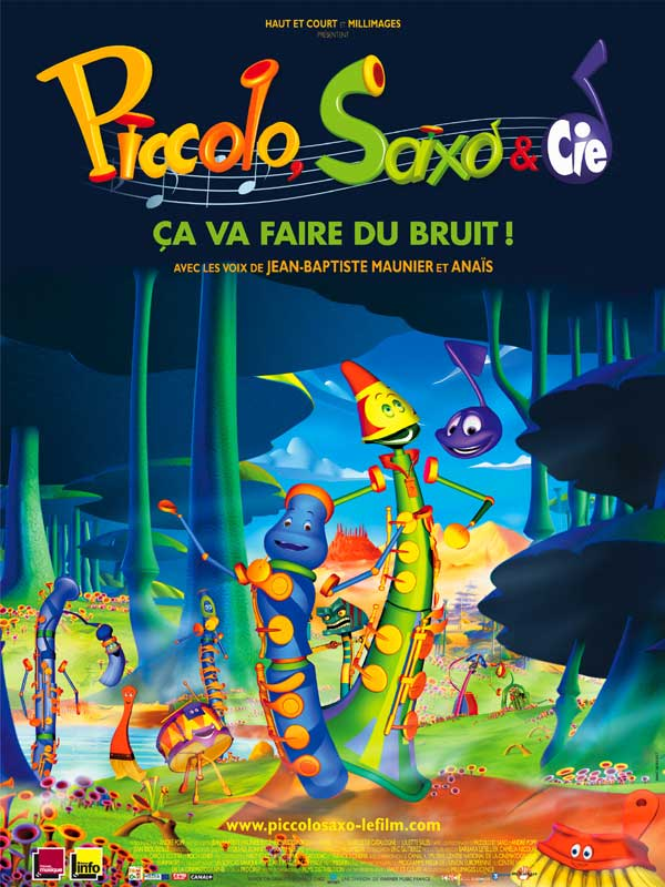 Piccolo, Saxo et compagnie movie
