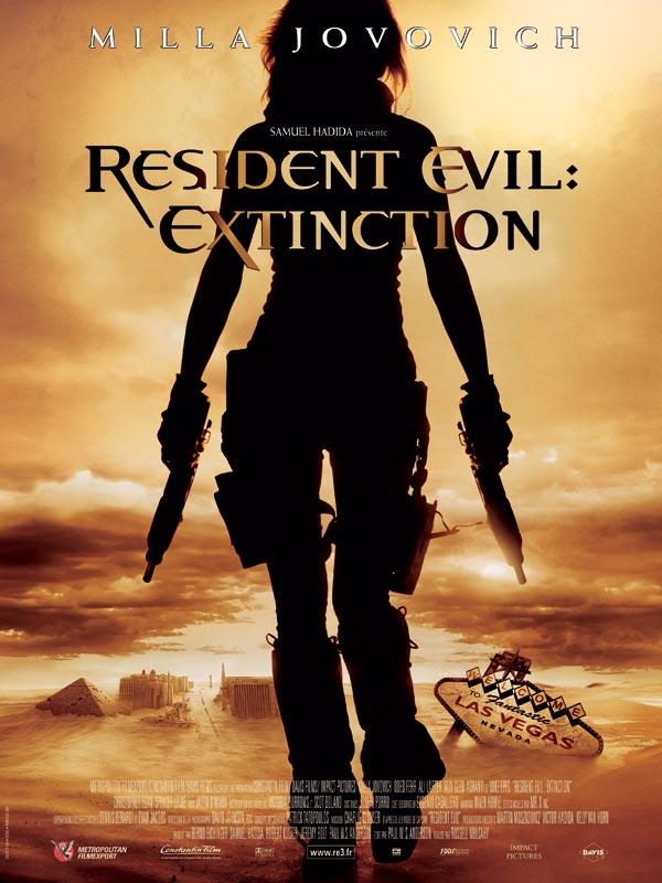 Resident Evil: Extinction : Review, Trailer, Teaser ...