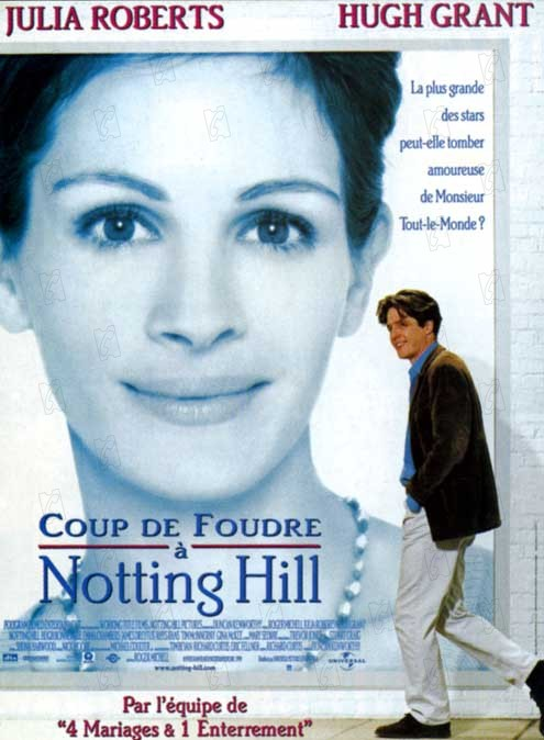 Notting hill review trailer teaser poster dvd blu ray download streaming torrent - Streaming coup de foudre a notting hill ...