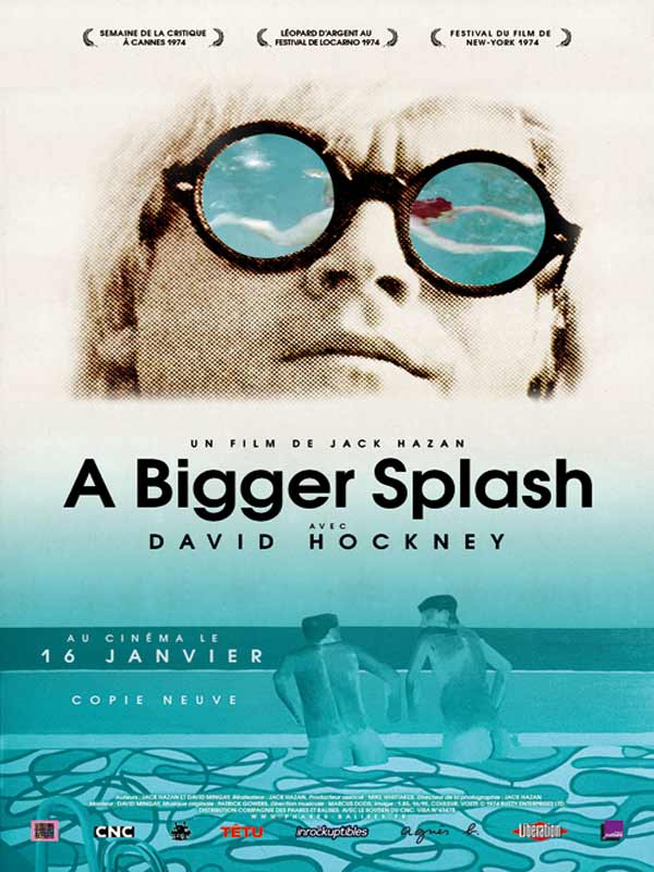 A bigger splash review trailer teaser poster dvd for A bigger splash movie